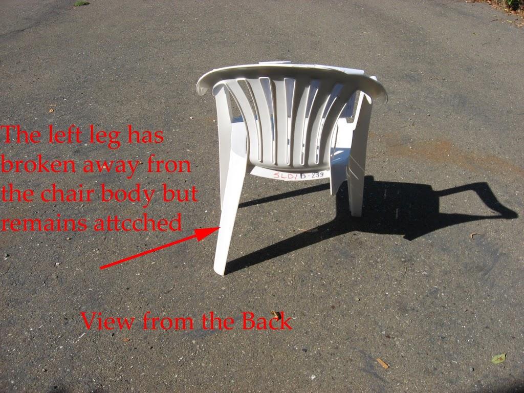 chair failure analysis plastic lawn chair